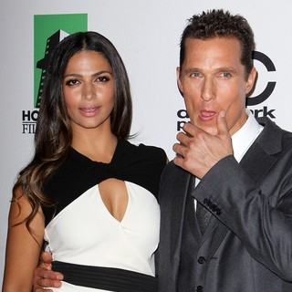 Camila Alves, Matthew McConaughey in The 17th Annual Hollywood Film Awards