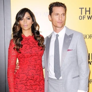 Camila Alves, Matthew McConaughey in US Premiere of The Wolf of Wall Street - Red Carpet Arrivals