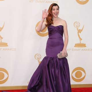 Alyson Hannigan in 65th Annual Primetime Emmy Awards - Arrivals