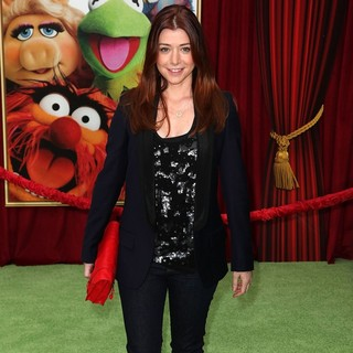 Alyson Hannigan in The Premiere of Walt Disney Pictures' The Muppets - Arrivals