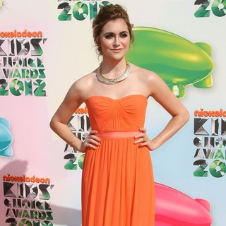 Alyson Stoner in 2012 Kids' Choice Awards - Arrivals