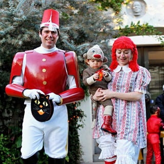 Alyson Hannigan Dresses Up for Halloween at A Private Party