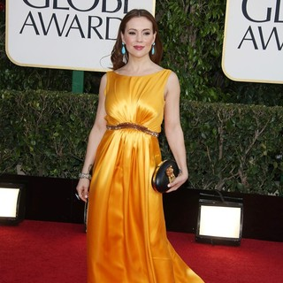 Alyssa Milano in 70th Annual Golden Globe Awards - Arrivals