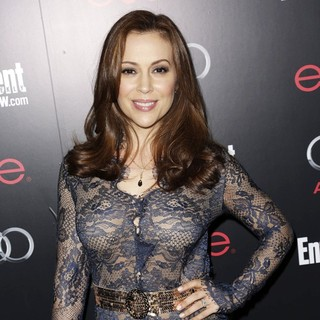 Alyssa Milano in Entertainment Weekly Screen Actors Guild Party - Arrivals - alyssa-milano-entertainment-weekly-screen-actors-guild-party-02