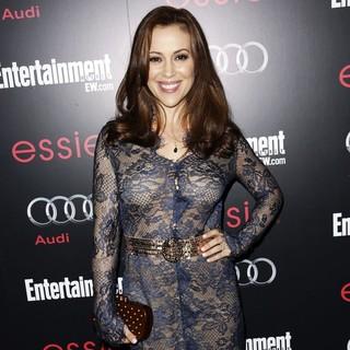 Alyssa Milano in Entertainment Weekly Screen Actors Guild Party - Arrivals - alyssa-milano-entertainment-weekly-screen-actors-guild-party-03