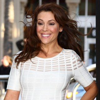 Alyssa Milano in Los Angeles Premiere of 42: The True Story of An American Legend - Arrivals - alyssa-milano-premiere-42-03