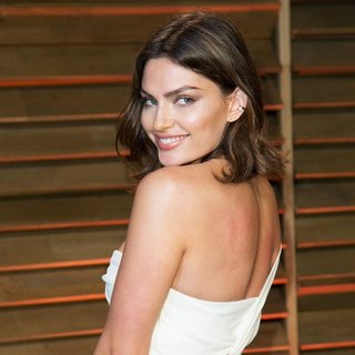Alyssa Miller in 2014 Vanity Fair Oscar Party