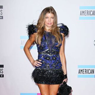 Stacy Ferguson in 2010 American Music Awards - Arrivals