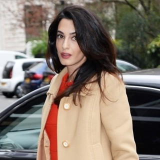 Amal Alamuddin-Amal Clooney Arrives at Chatham House