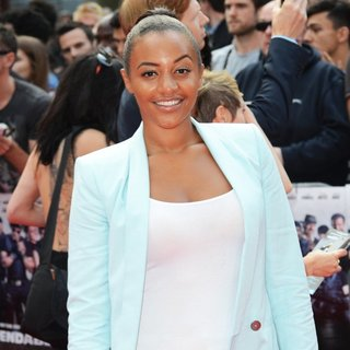 Amal Fashanu in The Expendables 3 - UK Film Premiere - Arrivals