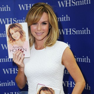 Amanda Holden in Amanda Holden Signs Copies of Her Autobiography No Holding Back