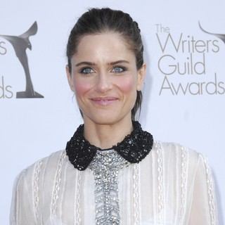 Amanda Peet in The 2012 Writers Guild Awards