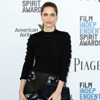 Amanda Peet-2017 Film Independent Spirit Awards - Arrivals