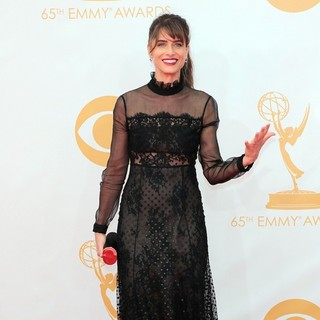 Amanda Peet in 65th Annual Primetime Emmy Awards - Arrivals