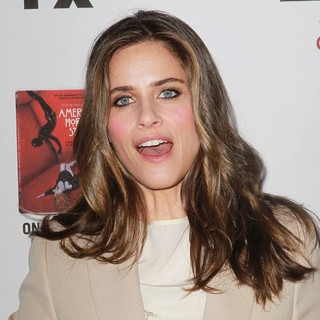 Amanda Peet in Premiere Screening of FX's American Horror Story: Asylum
