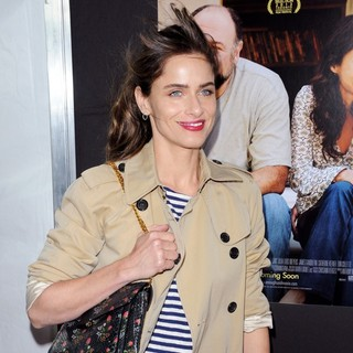 Amanda Peet in New York Screening of Enough Said - Red Carpet Arrivals