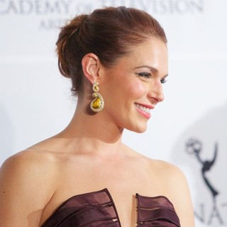 Amanda Righetti in 41st International Emmy Awards