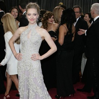 Amanda Seyfried in The 85th Annual Oscars - Red Carpet Arrivals
