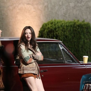 Amanda Seyfried in The Set of Lovelace