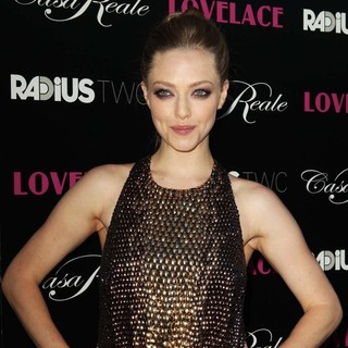 Amanda Seyfried in Lovelace Los Angeles Premiere