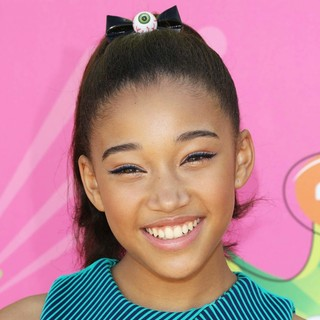 Amandla Stenberg in Nickelodeon's 26th Annual Kids' Choice Awards - Arrivals