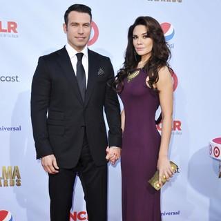 Rafael Amaya, Angelica Celaya in 2012 NCLR ALMA Awards - Arrivals