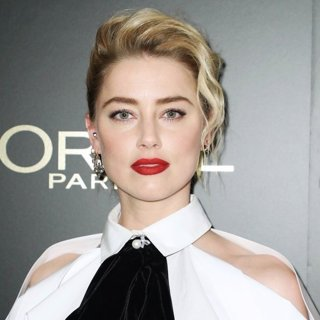 Amber Heard in L'Oreal Paris Hosts 14th Annual Women of Worth Awards