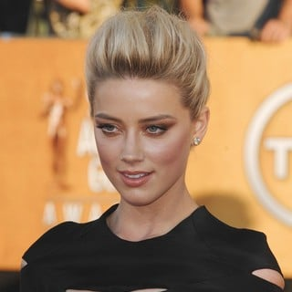 Amber Heard in The 18th Annual Screen Actors Guild Awards - Arrivals