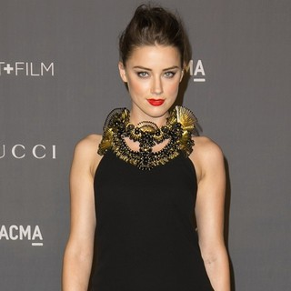Amber Heard in LACMA 2012 Art + Film Gala - Arrivals