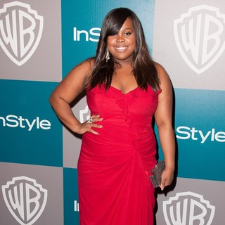 Amber Riley in The 69th Annual Golden Globe Awards - 13th Annual Warner Bros. and InStyle After Party