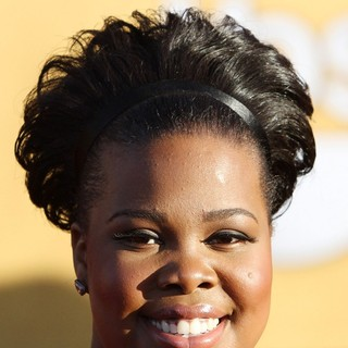 Amber Riley in The 18th Annual Screen Actors Guild Awards - Arrivals