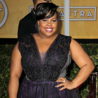 Amber Riley in 19th Annual Screen Actors Guild Awards - Arrivals - amber-riley-19th-annual-screen-actors-guild-awards-01
