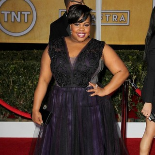 Amber Riley in 19th Annual Screen Actors Guild Awards - Arrivals - amber-riley-19th-annual-screen-actors-guild-awards-02