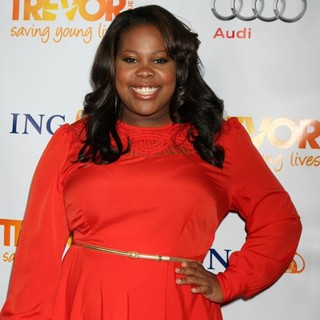 Amber Riley in The Trevor Project's 2011 Trevor Live! - Arrivals