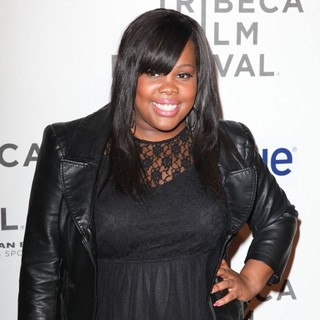 Amber Riley in 2012 Tribeca Film Festival - Struck by Lightning - Arrivals - amber-riley-2012-tribeca-film-festival-01