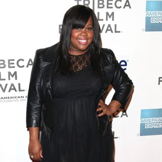Amber Riley in 2012 Tribeca Film Festival - Struck by Lightning - Arrivals - amber-riley-2012-tribeca-film-festival-02