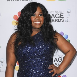 Amber Riley in The 43rd Annual NAACP Awards - Arrivals
