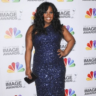 Amber Riley in The 43rd Annual NAACP Awards - Arrivals - amber-riley-43rd-annual-naacp-awards-02