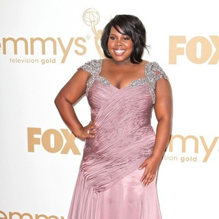 Amber Riley in The 63rd Primetime Emmy Awards - Arrivals