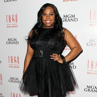 Amber Riley in Amber Riley Celebrates Her 26th Birthday