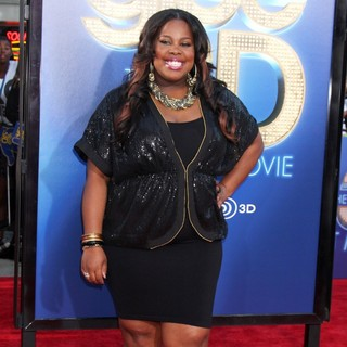 Amber Riley in The World Premiere of Glee The 3D Concert Movie - Arrivals