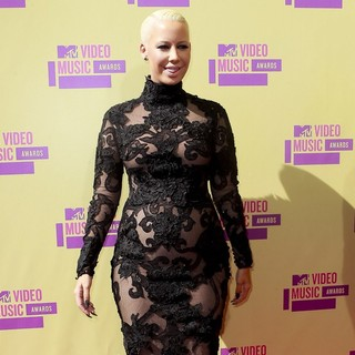 Amber Rose in 2012 MTV Video Music Awards - Arrivals