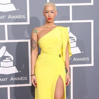 Amber Rose in 54th Annual GRAMMY Awards - Arrivals