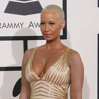 Amber Rose in The 56th Annual GRAMMY Awards - Arrivals
