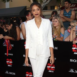Amber Stevens in Premiere of Columbia Pictures' 22 Jump Street