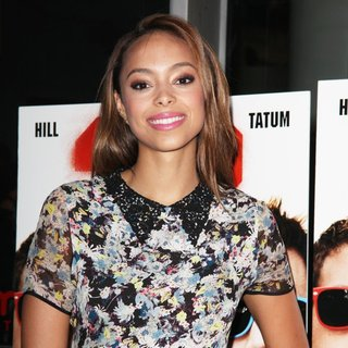 Amber Stevens in New York Premiere of 22 Jump Street