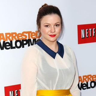Amber Tamblyn in Netflix's Los Angeles Premiere of Season 4 of Arrested Development