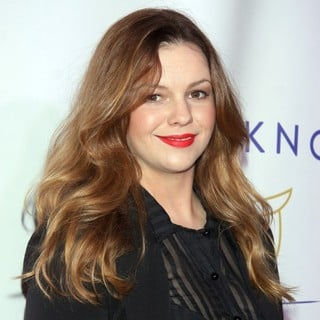 Amber Tamblyn in Tie The Knot Spring Collection Celebration - Arrivals