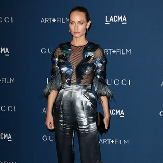 Amber Valletta in LACMA 2013 Art and Film Gala Honoring Martin Scorsese and David Hockney Presented by Gucci