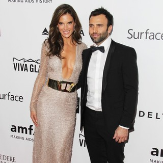Alessandra Ambrosio, Jamie Mazur in 2013 amfAR Inspiration Gala Los Angeles Presented by MAC Viva Glam